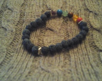 Lava Rocks Essential Oil Bracelet