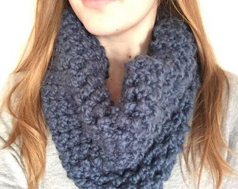 Handmade Knitted Snuggly Chunky Snood Scarf