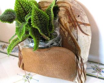 Ceramic wall planter B, ceramic planter, handmade planter