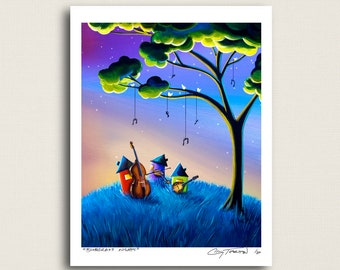 Bluegrass Nights - a country music band - Limited Edition Signed 8x10 Semi Gloss Print (18/20)