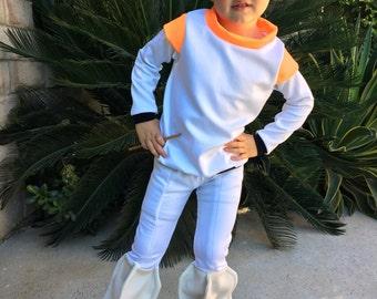 Paw Patrol Robot dog Costume Set Custom Made Size 2,3,4,5,6,7,8,10Y