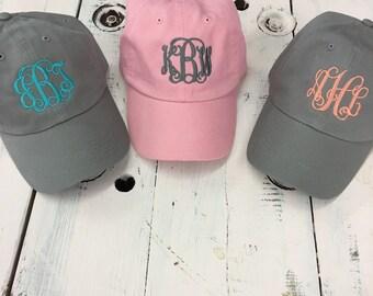Monogrammed cap monogrammed hat personalized cap monogrammed baseball cap