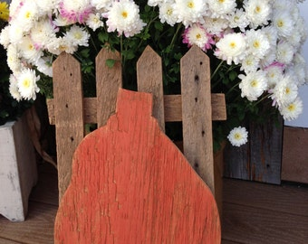 Picket Fence Pumpkin