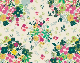 Femme Metale Floralia from Floralia Fusion - Pat Bravo - Art Gallery Fabric - 100% Quilters Cotton - FUS-F-1002