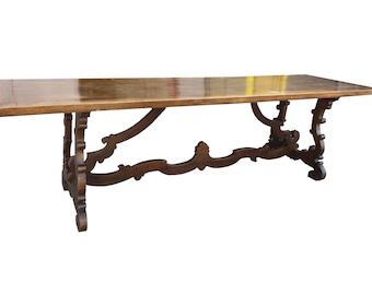 Lougie XIV - Italian Walnut Dining Table