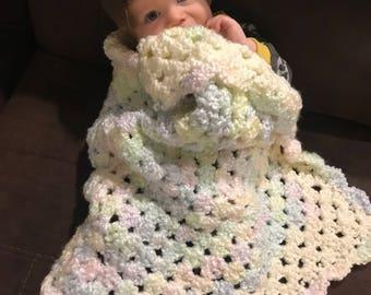Grammys hand crocheted blanket