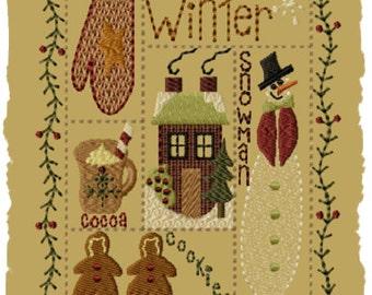 Winter Sampler- Version 1 - 5x7--INSTANT DOWNLOAD