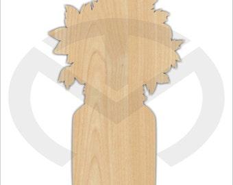 Mason Jar Bouquet - 01571- Unfinished Wood Laser Cutout, Door Hanger, Home Decor, Ready to Paint & Personalize, Various Sizes