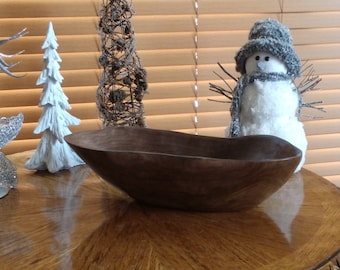 HAND CRAFTED Walnut Wooden BOWL