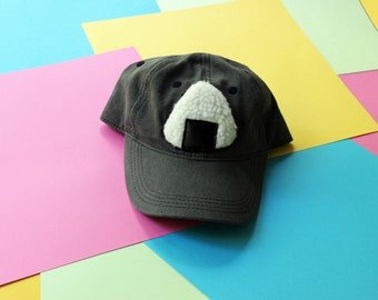 Handmade Onigiri Applique Baseball Hat - Strapback CUSTOM Many Colors