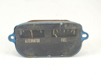 "Rectangular tractor gauge 2-3/4"" x 5"""