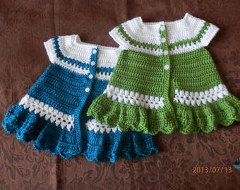 Toddler Crocheted Cardigan