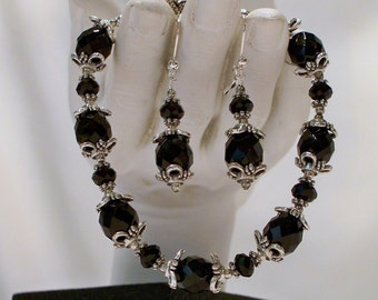 Jet Set 2 Bracelet and Earrings
