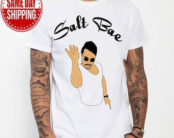 Salt Be  tshirt, Nusret Chef shirt, Nusret Chef gift, Birthday Gift, Christmas Gift,  Big Chef Gift, Father Days Gift, Mother Days Gift