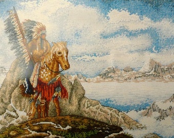 Mystic reflections - applejack licensing counted cross stitch kit anchor PCE923