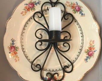 Wall candle sconce