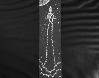 Bookemark in Rocket Ship