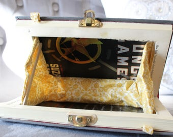 Special Edition Book Clutch Purse - The Hunger Games