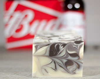 Sandalwood Bud | Beer Soap | Made with Budweiser Beer | Gifts for Men | Fatty's Soap Co.