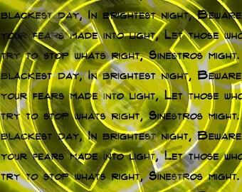 Yellow Lantern Corp with Oath