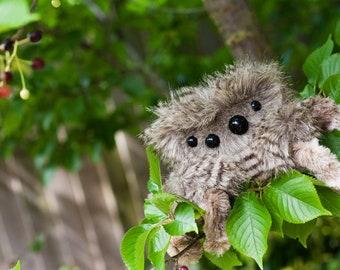 JASPER -  Small Limited Edition, Soft Sculpture, Fiber Art, Art Toy, Spider Plush, Halloween