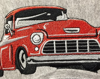 "Embroidered ""1955-56 Chevy Truck"" Shirt"