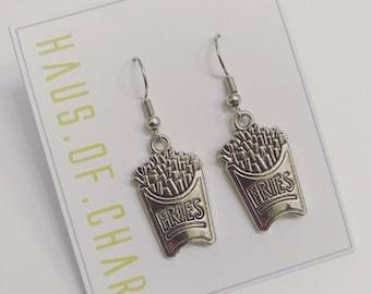 Fries! Dangle Earrings