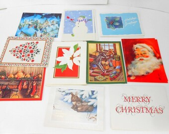 Vintage Christmas Cards boxed Christmas cards American Greetings boxed Christmas cards new old stock 19 cards and envelopes