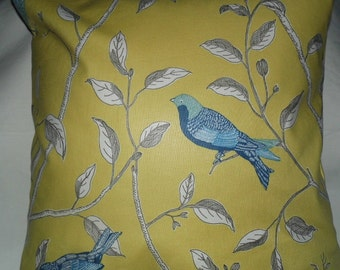 Sanderson Cushions in Finches