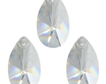 3 piece Crystal pendants star quail 50 mm 30% lead crystal Rainbow Crystal to the hang work Feng Shui crystal glass