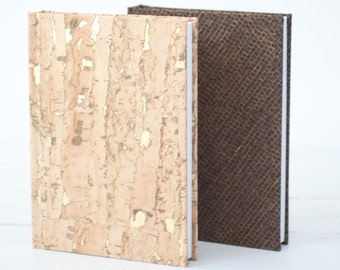 Cork Books, Eco-Friendly Recycled Albums