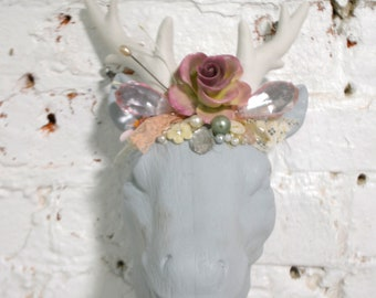 Painted Cottage Prairie Chic Faux Taxidermy