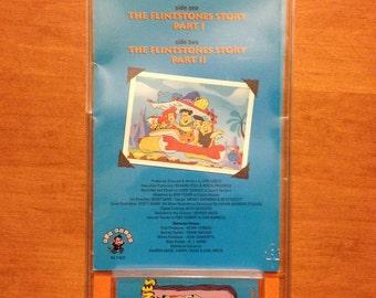 Jahrgang 1994 Flintstones Geschichte (Treffen der Feuerstein) Kassette ungeöffnet!