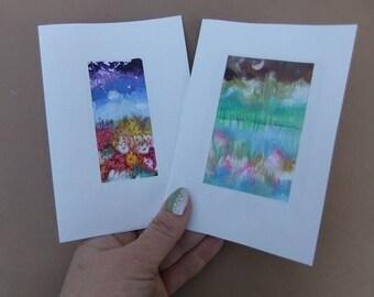 Ukrainian Postcards  Monotype