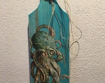 Green Octupus paddle