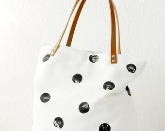 Dot Messenger bag, ladies handbag, handbag, shoulder bag, Tote, ladies bag