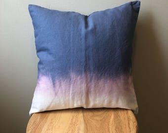 """Dip-Dye w/ Bleach Pillow Cover - 16""""x16"""""""