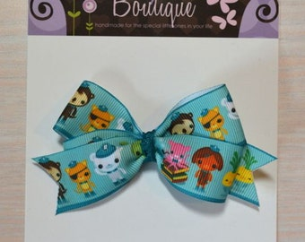 Boutique Style Hair Bow - Octonauts 1