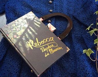 Rebecca Handbag, Daphne du Maurier, Rebecca book bag, Rebecca purse, Rebecca novel handbag, Last night I dreamt I made a book bag again...
