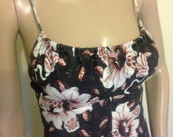 90s Handmade Halter Maxi Dress