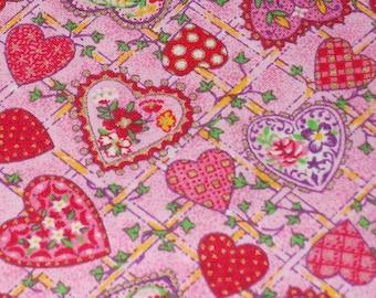 Flirty Hearts Fabric