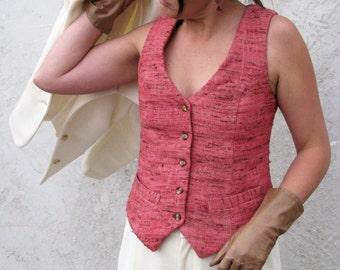 Custom Silk Vests--For Women