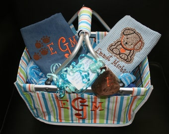 Personalized Market Basket w Gifts