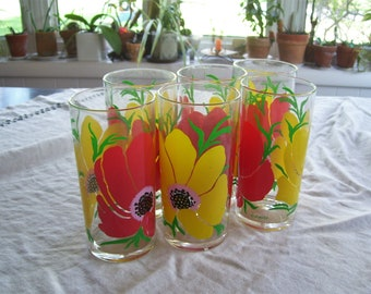Stotter Acrylic Floral Tumblers  Plastic Tumblers 16oz Vintage