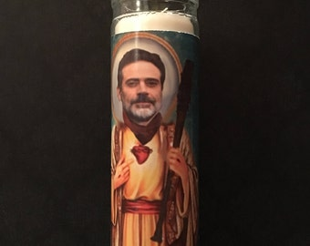 The Walking Dead Negan and Lucille Prayer Candle