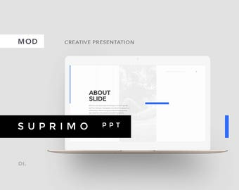 SUPRIMO Powerpoint Template