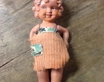 Vintage 1930's Bisque Doll