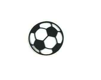 Paper Soccer Ball Die Cut Set of 30