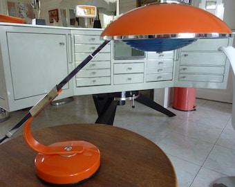 Table Lamp, Desk Lamp SOL R     Design Ferdinand SOLERE   1970  french Vintage