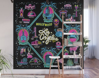 Welcome to Los Angeles! Wall Mural